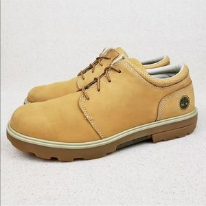 Timberland Tan Nubuck Leather Oxford Boot Shoes